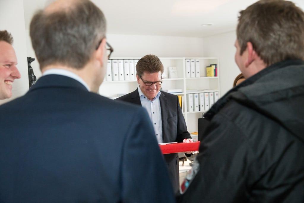 Ge-Komm GmbH I Tag des offenen Büros 2015 l