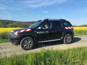 Wirtschaftswegekonzept Ge-Komm GmbH Geländefahrzeug Bereisung